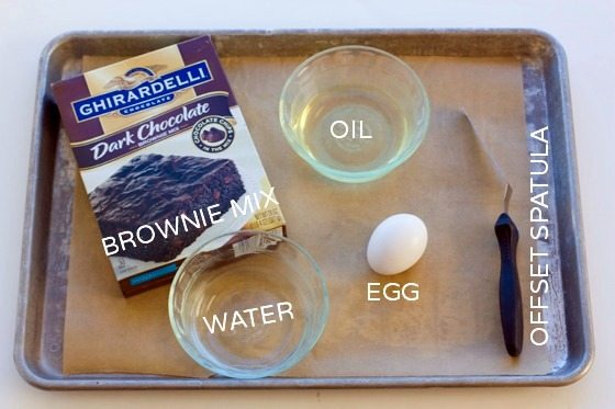 Brownie Brittle Recipe Ingredients