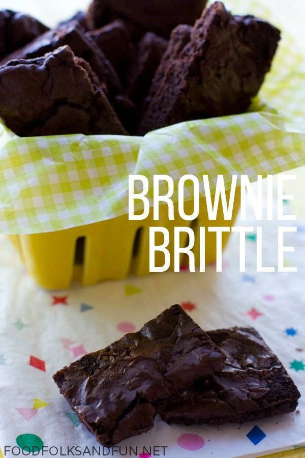 Brownie Brittle Recipe