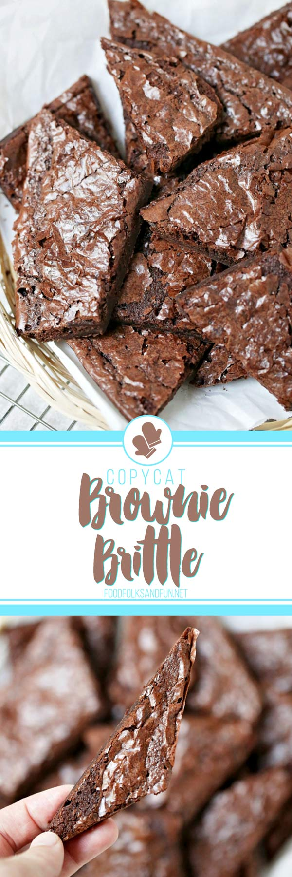 Quick and Easy Copycat Brownie Brittle recipe!