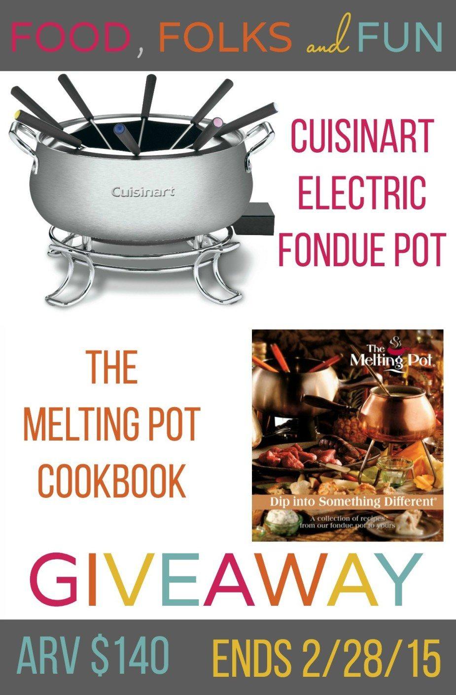 Fondue Pot Giveaway 1