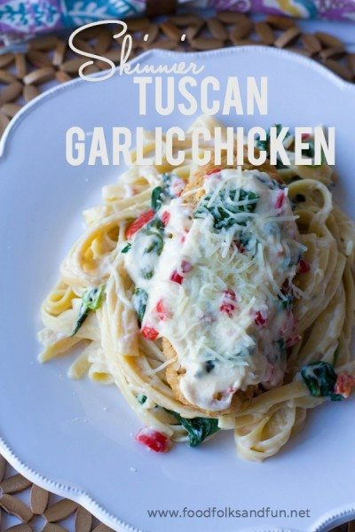 Skinnier Tuscan Garlic Chicken Recipe 6