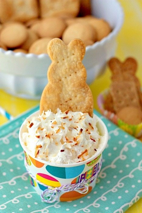 Coconut Cream Pie Cheesecake Dip Recipe