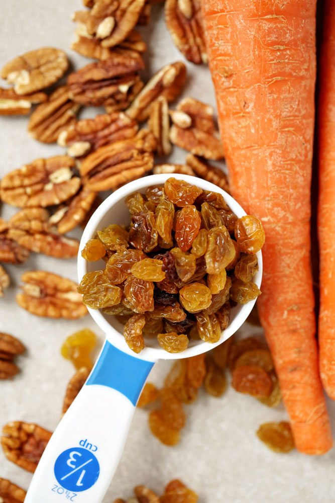 Star Ingredients of Healthy Carrot Cake Muffins