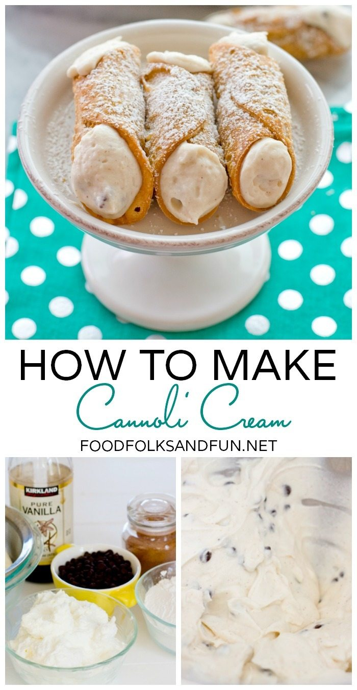 How to Make Cannoli Cream