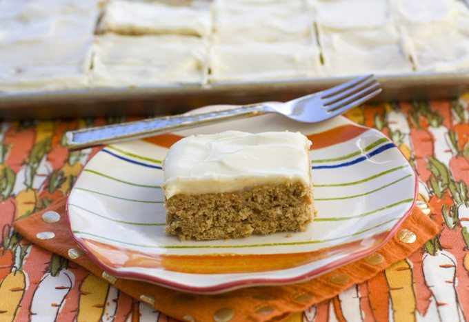 Carrot Cake Cookie Bar Recipe