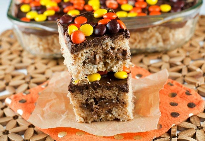 REESE'S Rice Krispie Treats