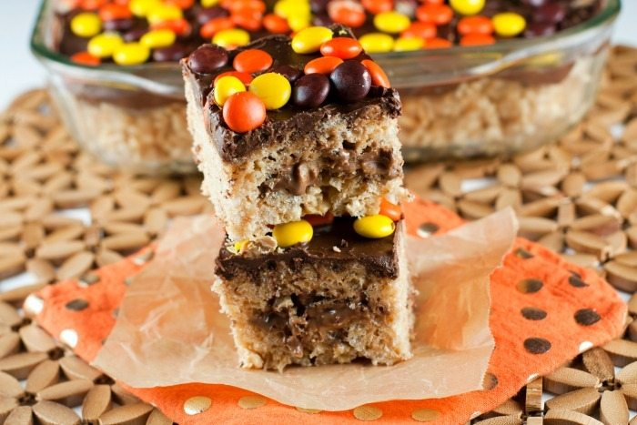 Loaded Reese's Rice Krospie Treats 2