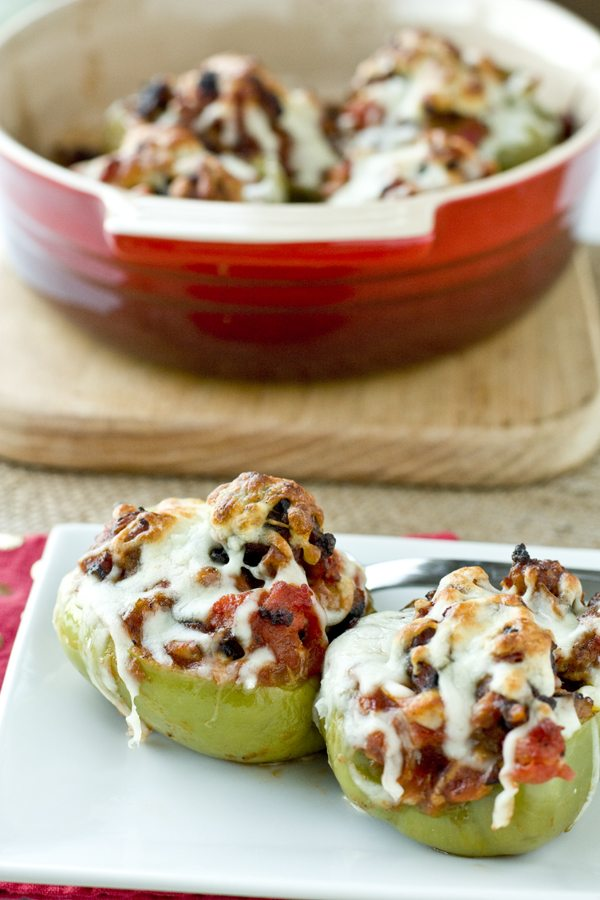 Sausage and Peppers Stuffed Peppers Recipe 2