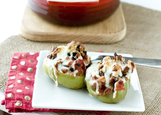 Sausage & Peppers Stuffed Peppers Recipe