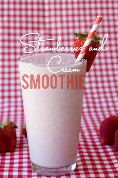 Strawberries & Cream Smoothie (2)