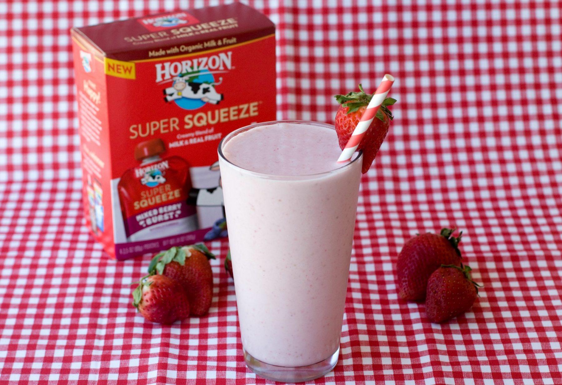 Strawberry & Cream Smoothie 4L