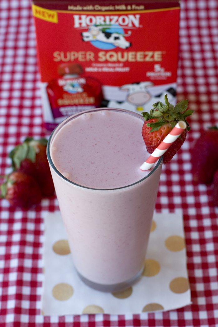 Strawberry & Cream Smoothie