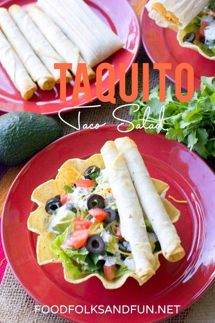 Taquito Taco Salad