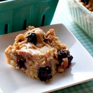 Buttermilk Snack Cake Recipe with Blackberries and Caramel Drizzle ...