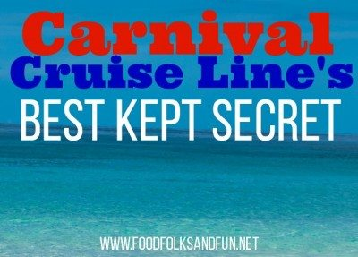 Carnival's Best Kept Secret - The Chef's Table