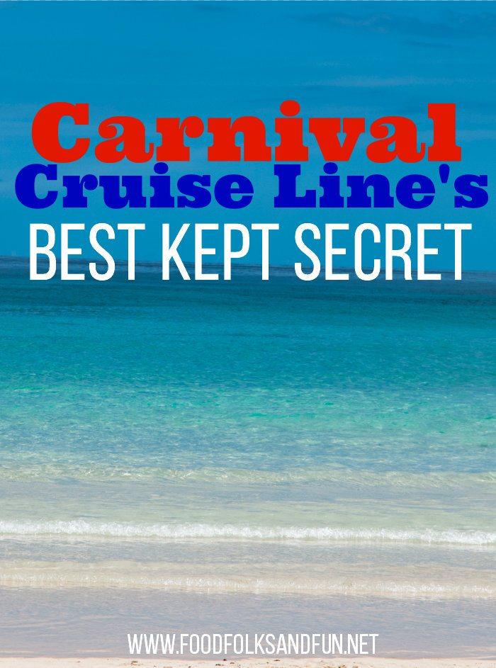 Carnival's Best Kept Secret