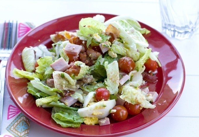 Cobb Salad Recipe & my #MomBrain Story