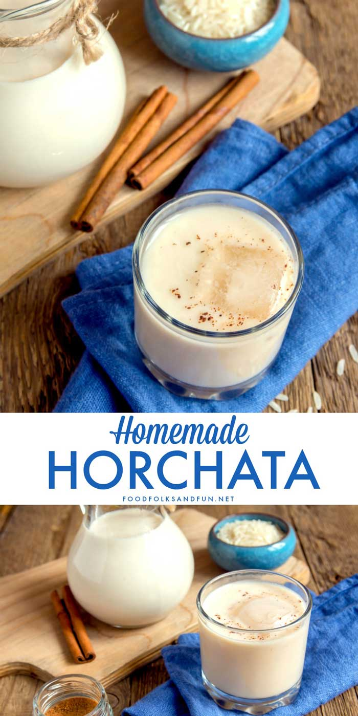 Horchata Recipe made two ways. Come see how easy it is to make homemade Horchata and how to make a Horchata Frappuccino! via @foodfolksandfun