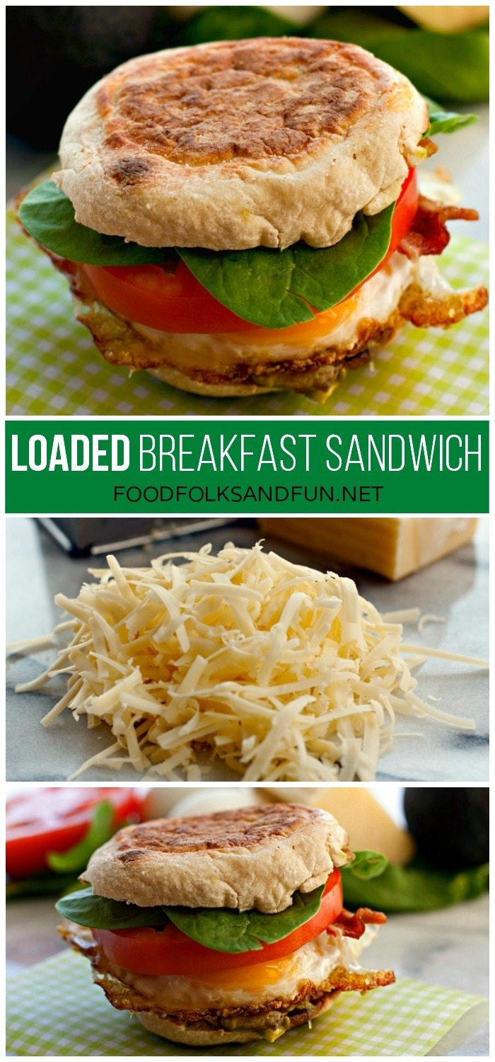Loaded Breakfast Sandwich Recipe