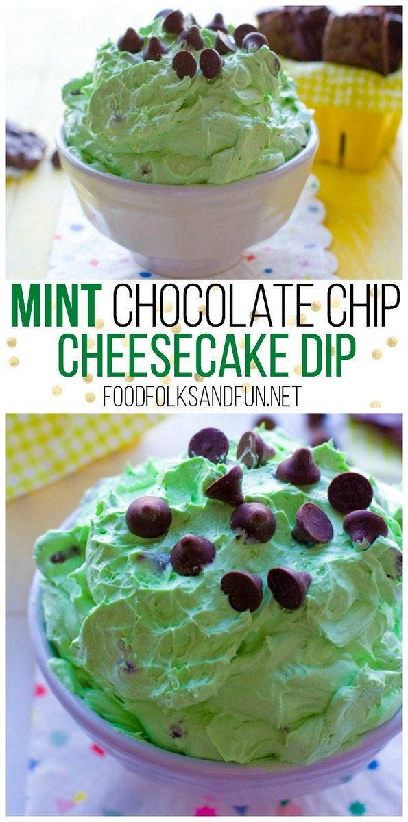Mint Cheesecake Dip