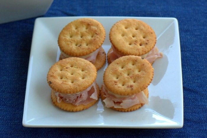 Ranch RITZ Crackers Ham and Cheese Recipe