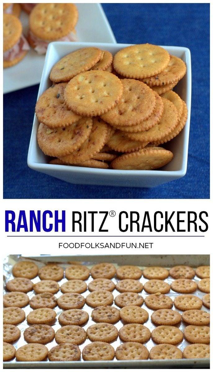 Ranch RITZ Crackers Recipe