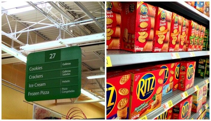 Where to find RITZ crackers