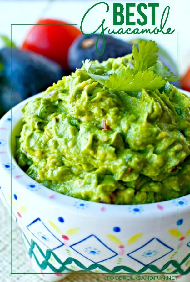 Guacamole recipe the best ever food folks and fun best guacamole recipe ever forumfinder Images