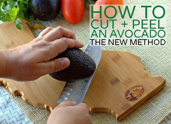 How to Peel an Avocado: the NEW Method + Brokaw Nursery Tour