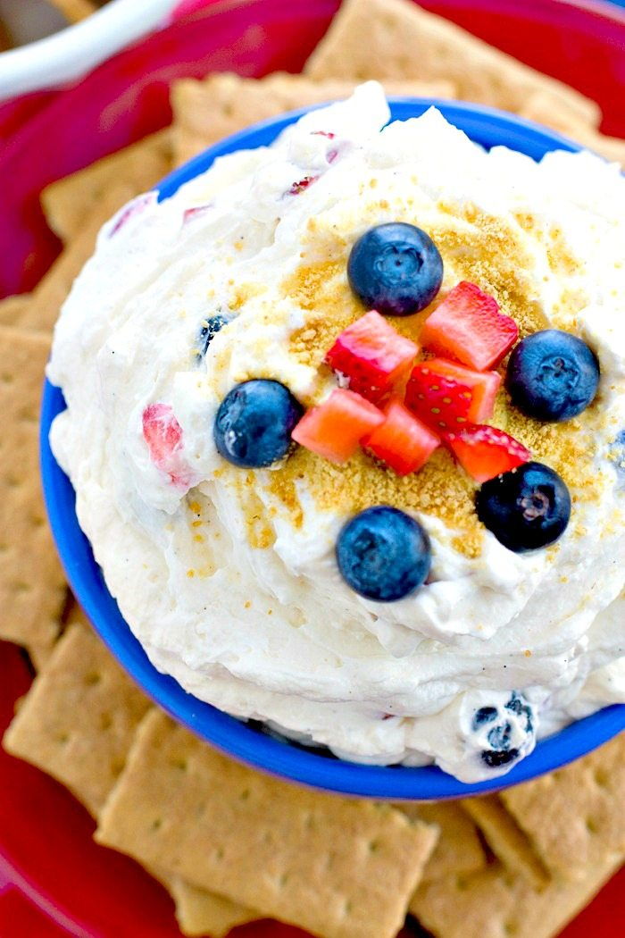 Cheesecake Dip Recipe with Fruit
