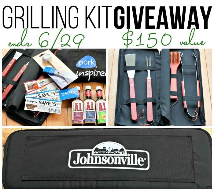 Grilling Kit Giveaway