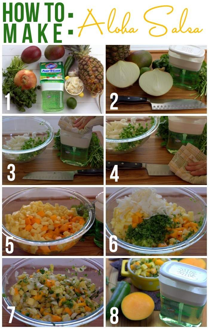 How to Make Aloha Salsa