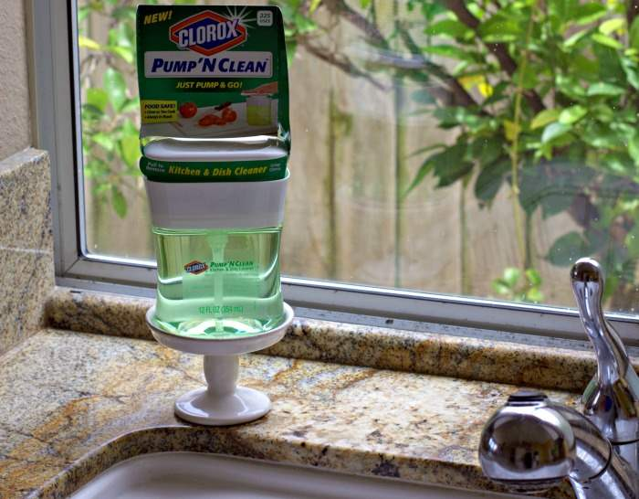 sink pump n clean