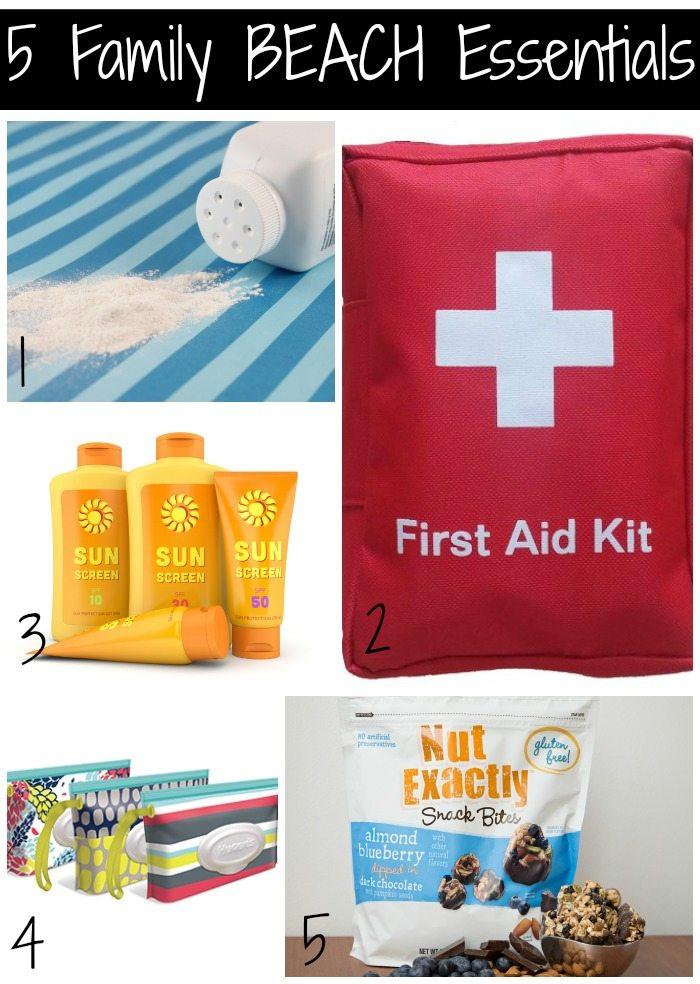 5 Family Beach Essentials
