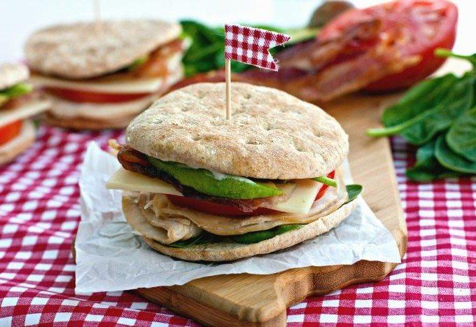 California Ranch Club Sandwich