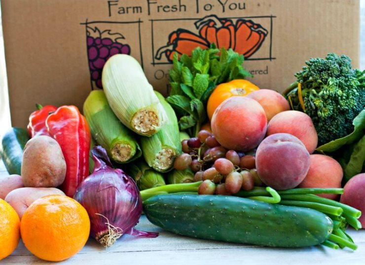 Farm Fresh To You Delivery Box
