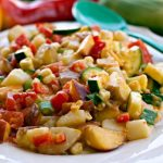 Summer's Best Potato Salad on a plate