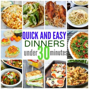 10 Quick & Easy Dinners