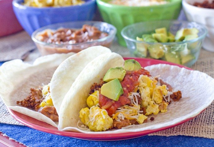 Breakfast Taco Bar