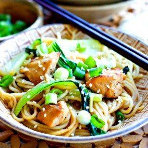 Chicken Chow Mein + Handpick Smart Groceries