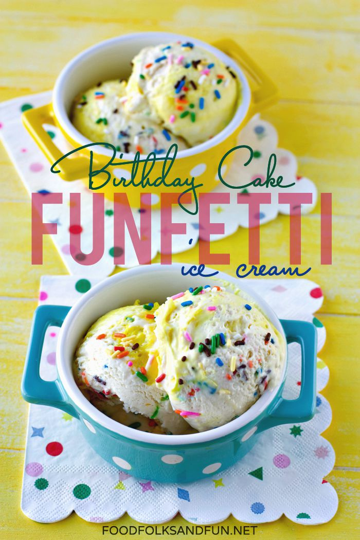Funfetti Birthday Cake Recipe Food Folks and Fun