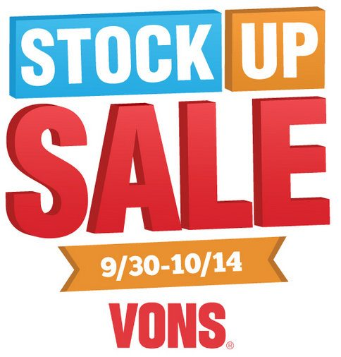 VONS Stock Up Sale