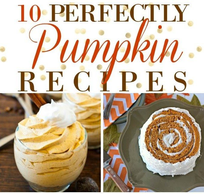 10 Perfectly Pumpkin Desserts