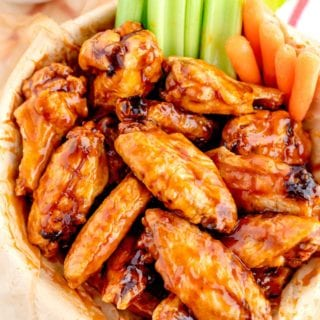 The best-ever Baked Chicken Wings