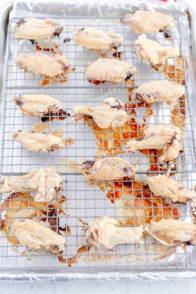 How to Bake Hot Wings - Step 5