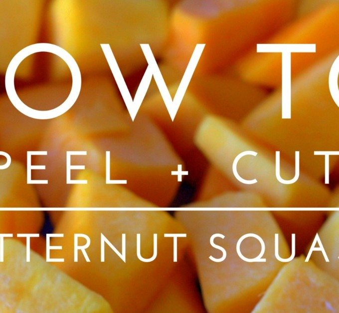 How to Peel and Cut Butternut Squash + GIVEAWAY! {$219 value}