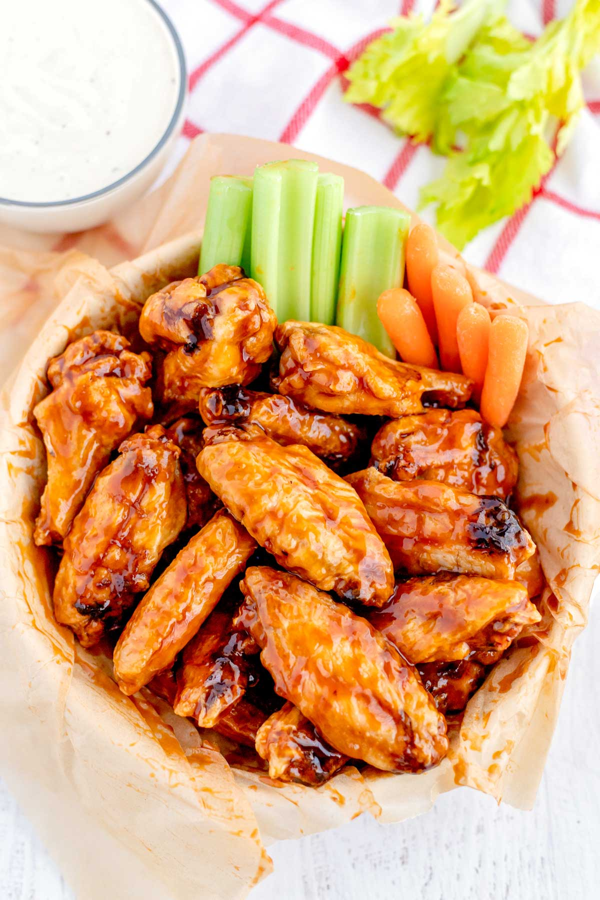 Baked Chicken Wings recipe