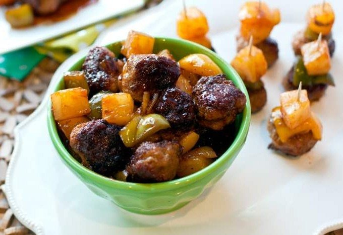 Sweet and Sour Cocktail Meatballs