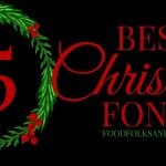 Favorite Christmas Fonts to download