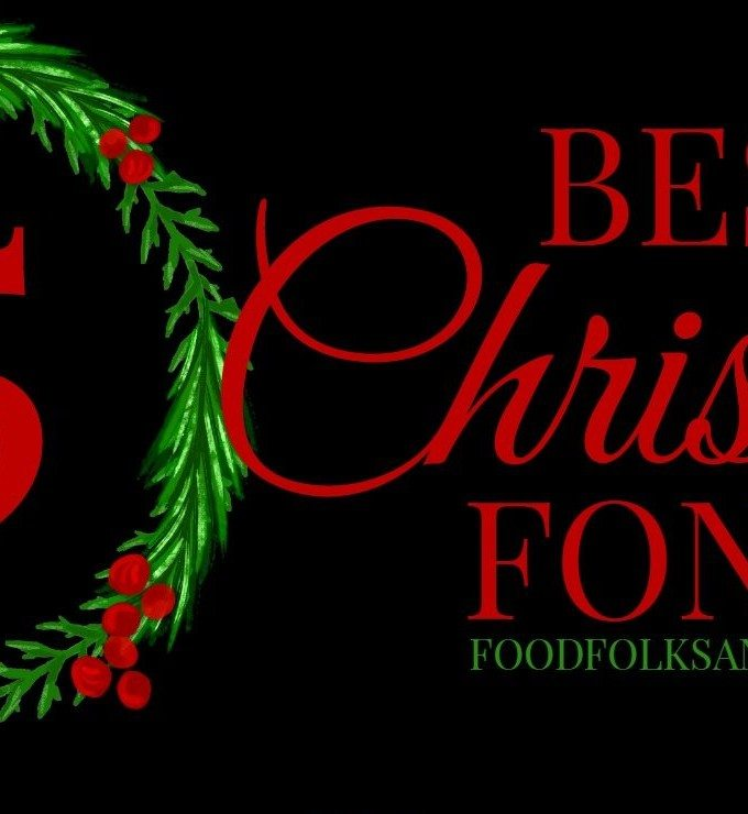 15 Best FREE Christmas Fonts